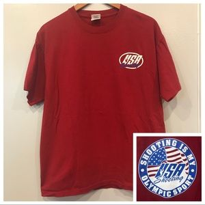 USA - 'Shooting is my Olympic sport' T-Shirt
